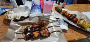 Spiedini di carne