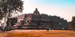 Il complesso del tempio di Borobudur